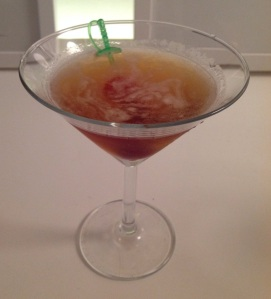 3oz Bourbon Manhattan