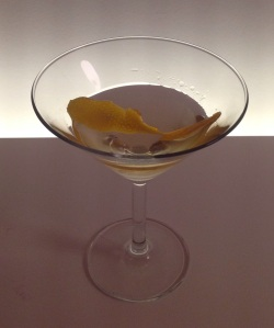 Vodka Martini made with Black Cow vodka