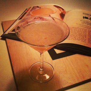 Sidecar, made with Bas Armagnac