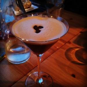 Espresso Martini at the Porthminster Café