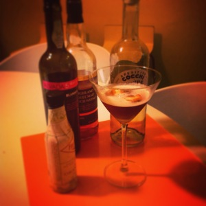 El Chanceler, made with Blandy's 5-year old Madeira